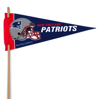 New England Patriots Mini Felt Pennant THUMBNAIL
