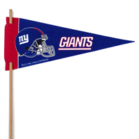 New York Giants Mini Felt Pennants THUMBNAIL
