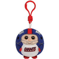 New York Giants Beanie Ballz Clip THUMBNAIL