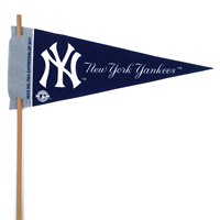 New York Yankees Mini Felt Pennants THUMBNAIL