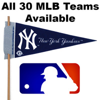 MLB Mini Felt Pennants THUMBNAIL