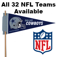 NFL Mini Felt Pennants THUMBNAIL