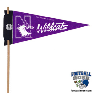 Northwestern Wildcats Mini Felt Pennants MAIN