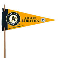 Oakland Athletics Mini Felt Pennants THUMBNAIL