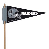 Oakland Raiders Mini Felt Pennants THUMBNAIL