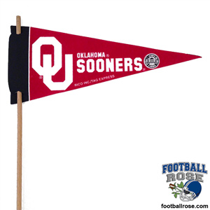 Oklahoma Sooners Mini Felt Pennants MAIN