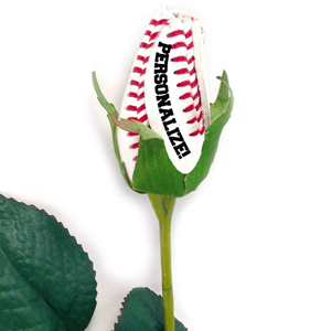 Personalized Baseball Rose MAIN