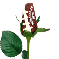 Personalized Football Rose THUMBNAIL