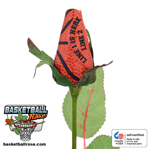 Personalized Basketball Rose MAIN