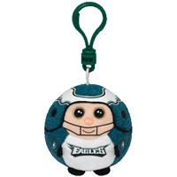 Philadelphia Eagles Beanie Ballz Clip THUMBNAIL