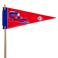 Philadelphia Phillies Mini Felt Pennant THUMBNAIL