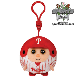 Philadelphia Phillies Beanie Ballz Clip MAIN