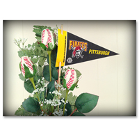 Baseball Gifts|Pittsburgh Pirates Flower Arrangements and Gifts