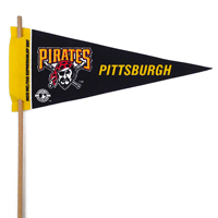 Pittsburgh Pirates Mini Felt Pennants THUMBNAIL