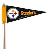 Pittsburgh Steelers Mini Felt Pennant THUMBNAIL