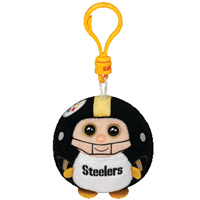 Pittsburgh Steelers Beanie Ballz Clip THUMBNAIL