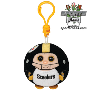 Pittsburgh Steelers Beanie Ballz Clip_MAIN