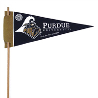 Purdue Boilermakers Mini Felt Pennants THUMBNAIL