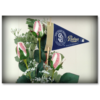 Baseball Gifts|San Diego Padres Flower Arrangements and Gifts