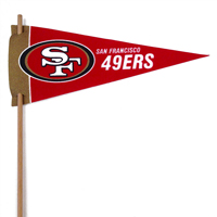 San Francisco 49ers Mini Felt Pennants_THUMBNAIL