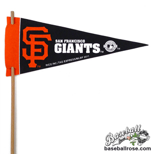 San Francisco Giants Mini Felt Pennants MAIN