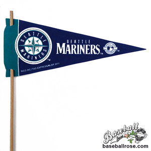 Seattle Mariners Mini Felt Pennants MAIN