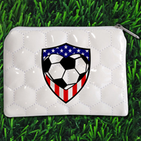 USA Soccer Themed Coin Purse THUMBNAIL