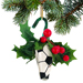 Soccer Rose Christmas Ornament with Gift Box SWATCH