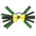 Softball Hair Bow - Green Camouflage SWATCH