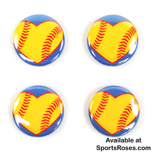 Softball Hearts Pin Pack_MAIN