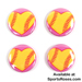 Softball Hearts Pin Pack_SWATCH