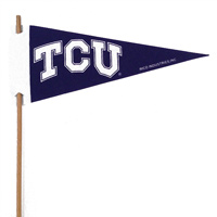 TCU Horned Frogs Mini Felt Pennants_THUMBNAIL