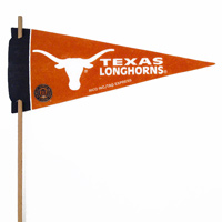 Texas Longhorns Mini Felt Pennants THUMBNAIL