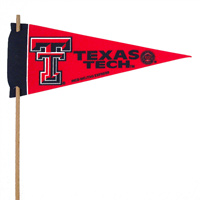 Texas Tech Red Raiders Mini Felt Pennants THUMBNAIL