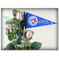 Baseball Gifts|Toronto Blue Jays Flower Arrangements and Gifts