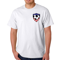 USA Soccer Heart Men's T-Shirt THUMBNAIL