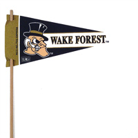 Wake Forest Demon Deacons Mini Felt Pennants THUMBNAIL