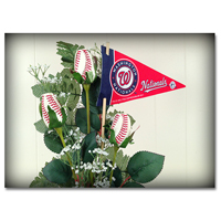 Baseball Gifts|Washington Nationals Flower Arrangements and Gifts