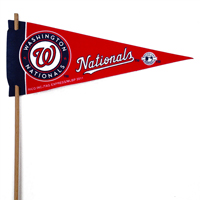 Washington Nationals Mini Felt Pennants THUMBNAIL