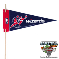 Washington Wizards Mini Felt Pennant THUMBNAIL