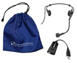 Audio-Technica Pro 8HEmW Andrea USB-MA Adapter Combo