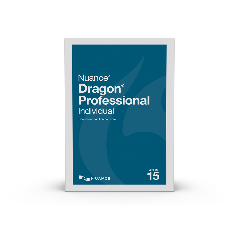 Dragon Professional Individual 15 Full - Boxed Version