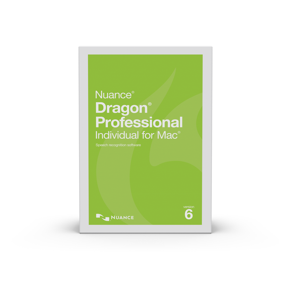 Dragon Professional Individual for Mac 6 - Full (Boxed Version)