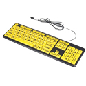 EZ Eyes Large Print Keyboard