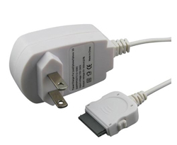 Eforcity 30-Pin White AC Wall Charger for iPhone