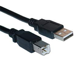 USB A-B 15FT Extension Cable