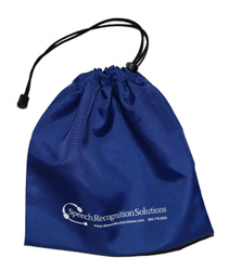 Drawstring Microphone Bag