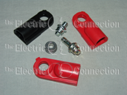 1008 Battery Bolt Kit / Short Bolt; Long Bolt; Spacer; 2 Red Covers; 1 Black Cover THUMBNAIL