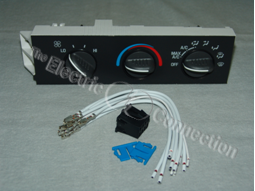 15-73568 HVAC Control Head with 4172 Repair Harness Combo / Cheverolet & GMC Vans / 2001-2007