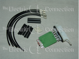 15-80647 Blower Motor Resistor w/Wire Repair Kit / Hummer, Equinox, Solstice, Torrent, Sky / 06-10